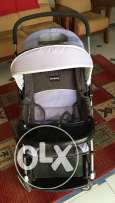 Two way stroller(for rocking and normal pushchair)  with free baby bag