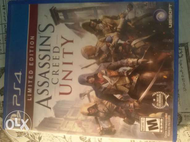 Assassin's creed unity limited edition PS4