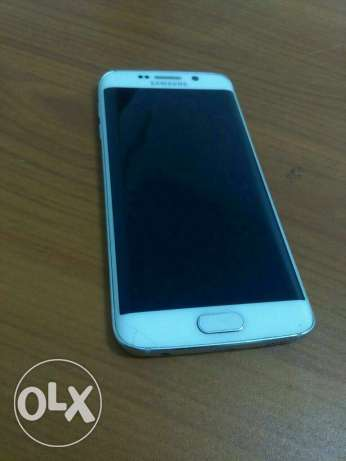 S6 edge 32G white with box in good condition مدينة نصر -  1