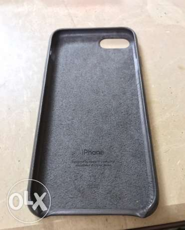 Iphone 7 original leather case (Storm Gray) المهندسين -  4