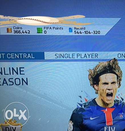 Fifa 16 PC origin account with coins