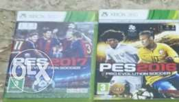Pes 2016 , pes 2017 for xbox 360