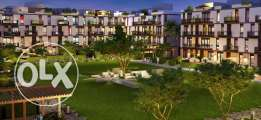 Apartment with garden for sale in westown courtyards 216m 15% down pay