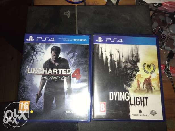 dying light uncharted 4 ps4 for sale