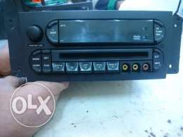 Chrysler Pacifica Radio AM FM mp3 CD DVD Player