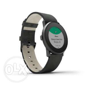 Pebble Time Round Smartwatch for Apple/Android Devices Black from US
