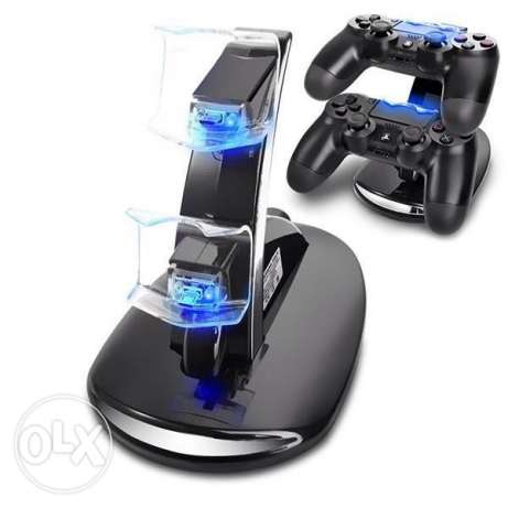 Playstation 4 charger charging station شاحن بلاىستيشن ps4