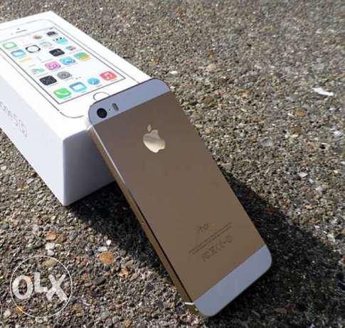 Iphone 5s Gold is new International USA وسط القاهرة -  2