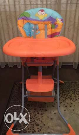 New rarely used baby chair made in Germany حى الجيزة -  1