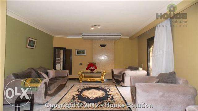 Furnished Duplex Apartment For Rent In Maadi Degla