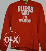 Red Guess sweater (boys age:11-12)