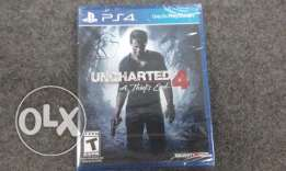 Uncharted 4 sealed
