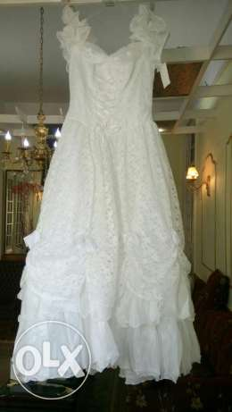 wedding dress from france size 46