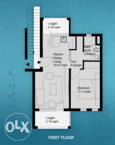 Hot offer 1 bedroom apartment in Scarab directly by the pool, El Gouna الغردقة - أخرى -  8