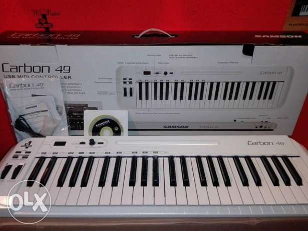 ميدى كيبورد سامسون كاربون mf music instruments store 49