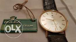 ROLEX CELLINI. A rare and unusual 18K Gold, Made for King Faisal