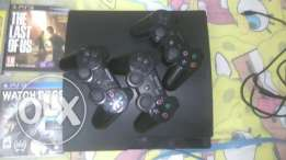 Ps3 with 6 games and 3 wireless controller