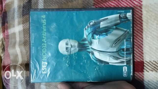 ESET NOD32 Antivirus 4 Cd For sale
