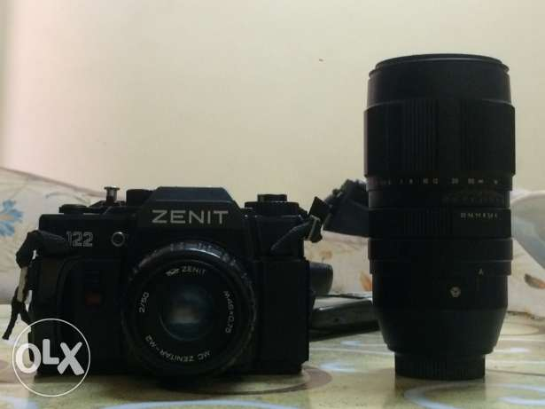 camera (ZENIT) made in : RUSSIA