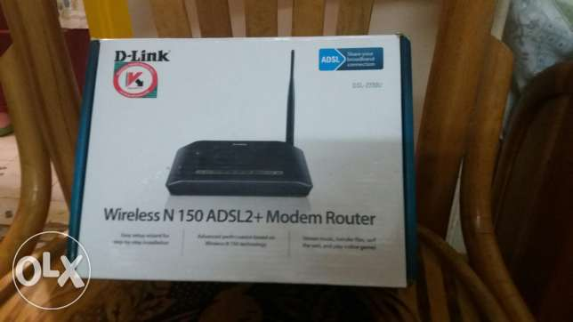 Router D-Link wireless N150 ADSL2