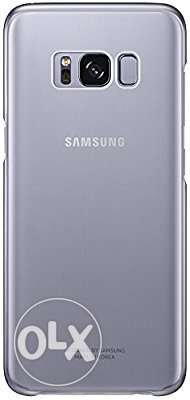 Sealed Samsung Clear Cover for Galaxy S8 - Violet