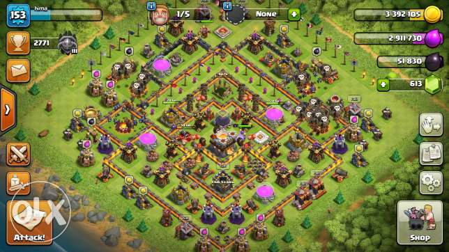 Clash of clans nearly maxed TH11 account