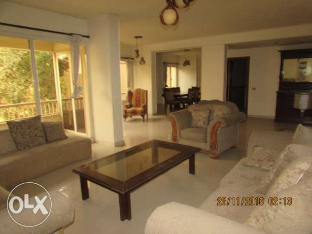 for Rent flat furnished 4 rooms 3 bathroom in very cool dagalah maaid المعادي -  2