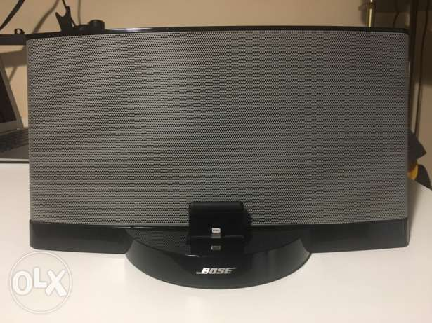 Bose speakers (sound dock III)