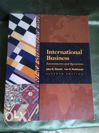 International business environment and operations 7th Edition