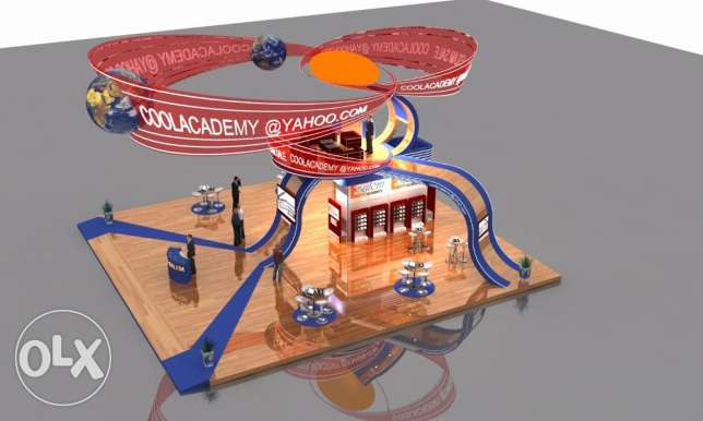 3D Exhibition Booth Designer