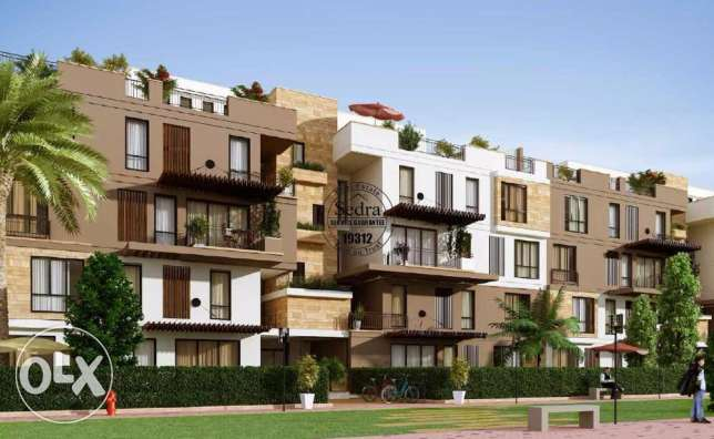 SODIC WEST phase 6 253m plus roof 160m 6 أكتوبر -  2