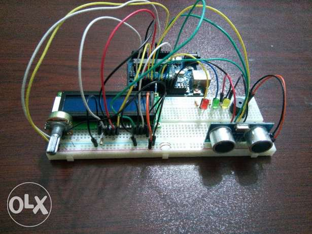Distance Measuring and Distance detection Device project