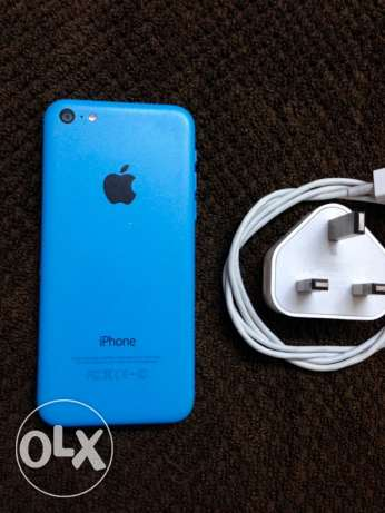 iphone 5c blue 16GB بأسيوط