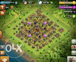 Clash of clans th 10 maxed almost