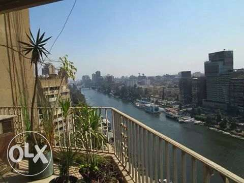 nile nd gzeira club view 2 bedrooms app wz balcony