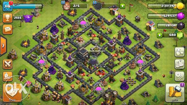 Clash of clans tawon 9 max