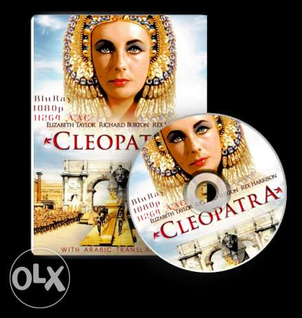 Cleopatra movie 1963 Elisabeth Taylor] blueray 1080p With Ar translate