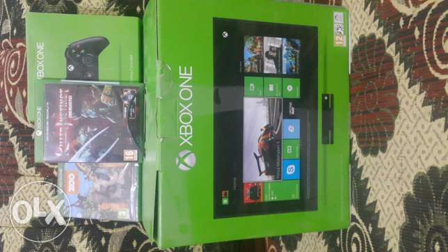 Xbox One + Kinect (New)