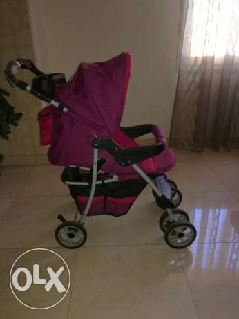 Crib and stroller junior مدينة نصر -  4