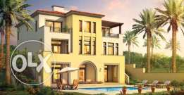 stand alone villa for sale in uptown cairo فيلا للببع باب تاون