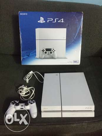 PlayStation 4 White - Ultimate Edition