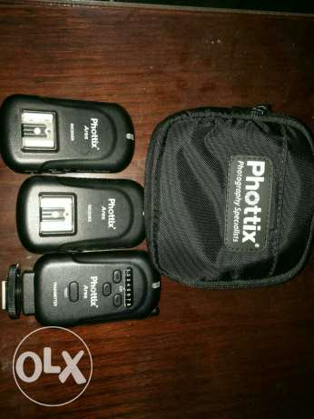 Phottix Ares triggers and transmitter