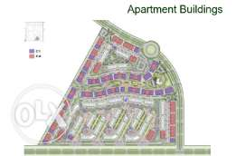 Excellent Apartment 174m Typical Floor1 at Sarai, New Cairo For Sale .