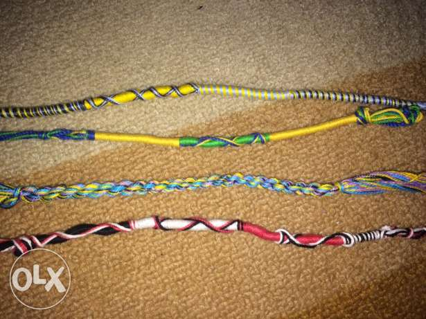 Friendship Bracelets. Each with 5 pounds