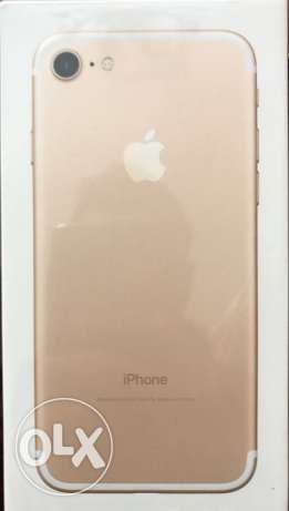Iphone 7 New Gold 32 GB