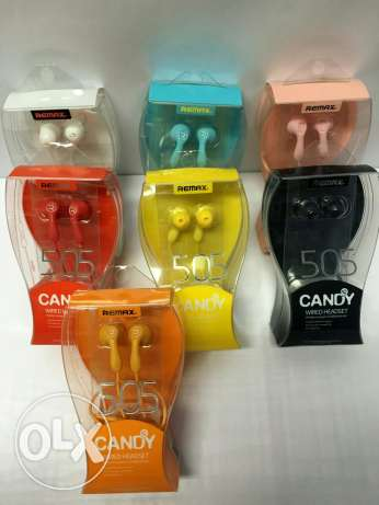Remax 505 candy earphones شبرا -  2