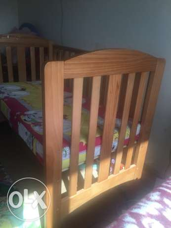 Mothercare Bed with the mattress الشيخ زايد -  4