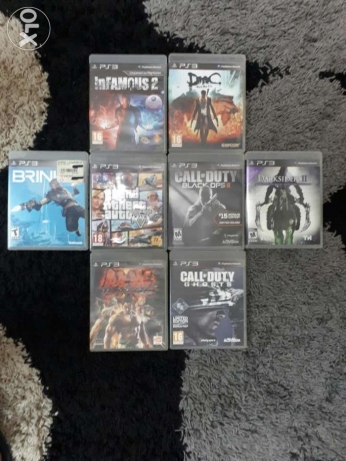 ps3 games (like new)