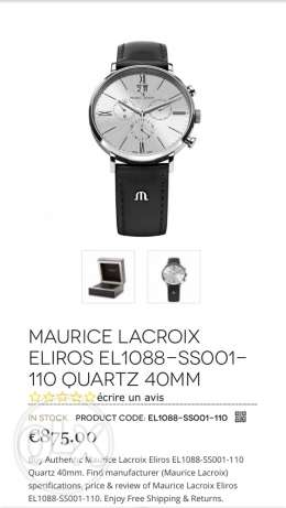 maurice lacroix ساعة swiss made