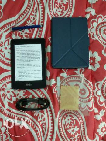 جراب واسكرين وقلم تاتش+ Paperwhite kindle كيندل بيبروايت